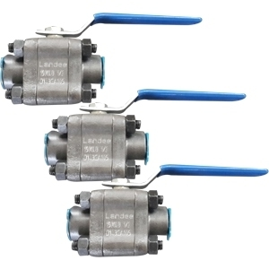 3-PC Ball Valves, 3/4 Inch, Class 1500