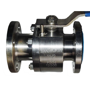 ASTM A182 F304 Floating Ball Valves, SS, 150LB