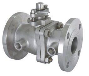 Jacket Ball Valves, ASTM A216 WCB, DN50
