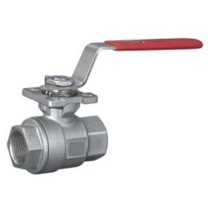 Screw Floating Ball Valves, NPT, 1/2 Inch