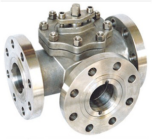 3-Way Casting Ball Valve, WCB, PN150 DN25