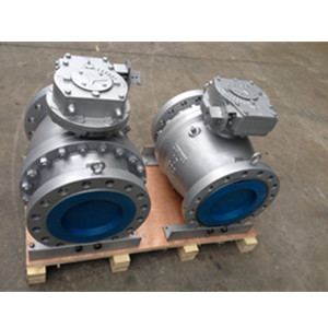 2-PC Trunnion Ball Valves, SS316 Trim, RF