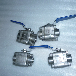 ASTM A182 Ball Valves, PEEK Seat, BS 5351