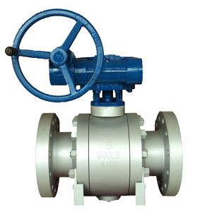 Bolted Trunnion Ball Valves, ASTM A105, RTJ