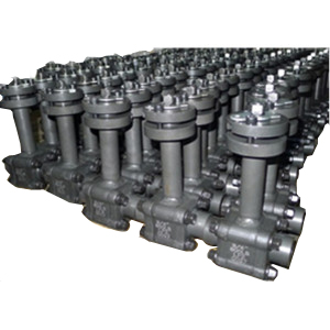 Extensile Stem Ball Valves, A350 LF2, 3-PC