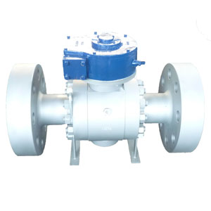 Flanged Trunnion Ball Valves, A105N, 2500#
