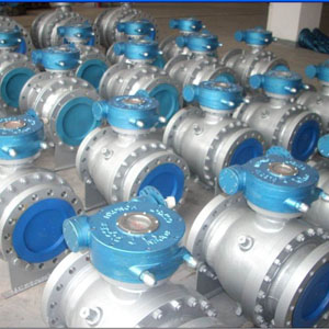 Full Bore Ball Valves, 8 Inch, 2-PC, RF