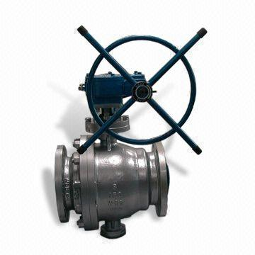 Stainless Steel Trunnion Ball Valves