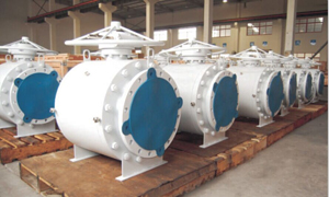 Trunnion Mounted Ball Valves, DN400 PN100