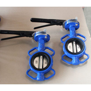 Cast Iron Wafer Butterfly Valve, API 609