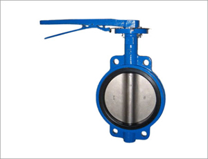 Casting Butterfly Valve, DN80, WCB, Wafer