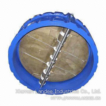 Cast Iron Butterfly Valves, Wafer Ends