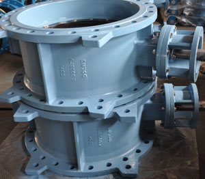 Double Eccentric Butterfly Valves, DN700