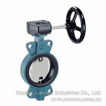Manual Operated Butterfly Valves, DN50-1800