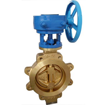 Offset Butterfly Valves, Aluminum Bronze