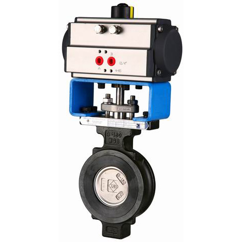 Pneumatic Butterfly Valves, CS, SS, AS
