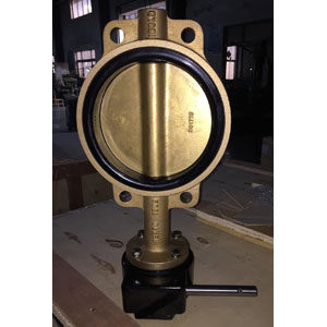 Al-Bronze Wafer Butterfly Valve, 8IN 150#