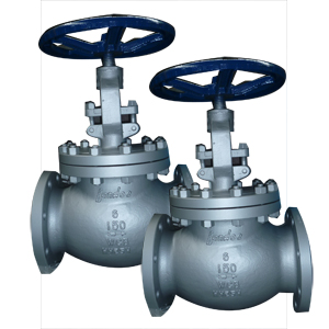 Cast Steel Globe Valves, 6 Inch, 150#, RF