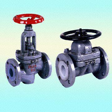 Diaphragm Valves, PTFE-Lined, Carbon Steel