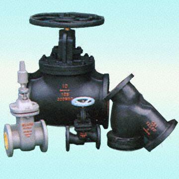 Gray / Ductile Iron Foot Valves, Flanged