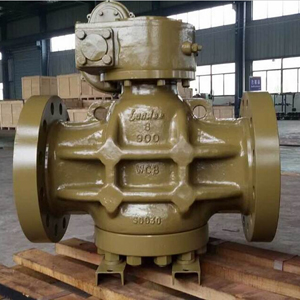 Full Bore Plug Valves, ASTM A216 WCB, RTJ