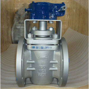 Gear Operated Plug Valve, PN20, DN200, RF