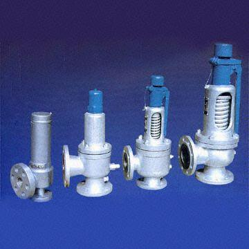 Safety Valves, Flanged, CS, AS, SS