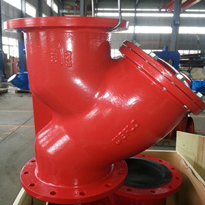 ASTM A126 Y-Strainers, UL, 175 PSI