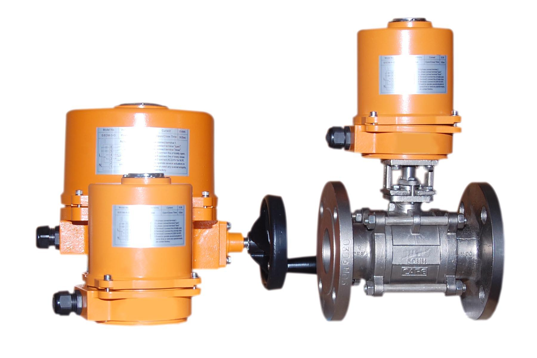 Three Classifications of Control Valve